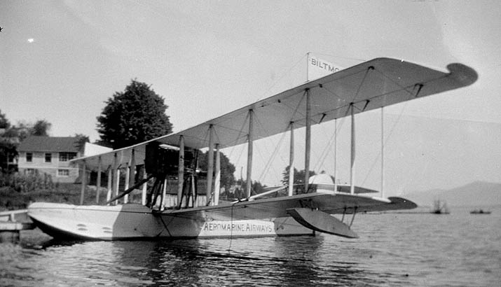 Aeromarine Model 85 'Biltmore' at Lake George, NY