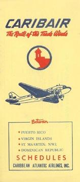 1959 Caribbean Atlantic Airlines : La Route des Alizés Cb590428