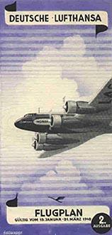 deutsche lufthansa flugplan