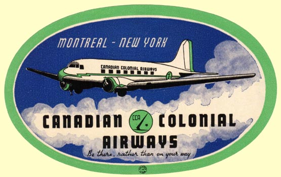 1933 Canadian Colonial Airways : Montréal New York sous Flight Simulator par Michel Lagneau    Ca1l2