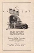 To larger image of an Uppercu Cadillac Corporation advertisement