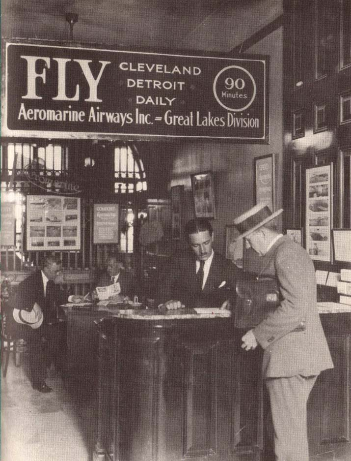Aeromarine city ticket office in Cleveland