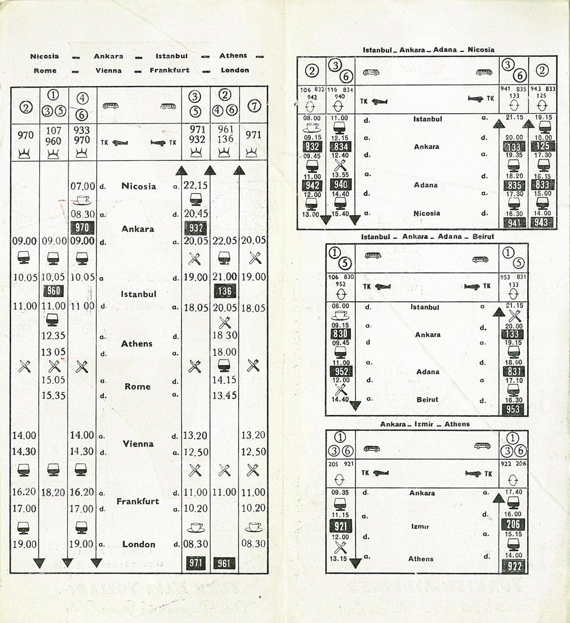 Airline Timetable Images - List of Complete Timetables